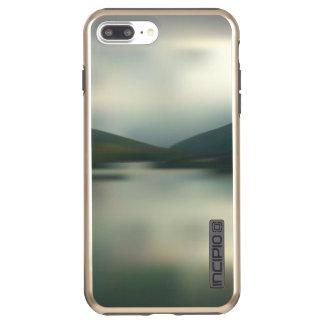 Funda DualPro Shine De Incipio Para iPhone 8 Plus/ Lago en las montañas