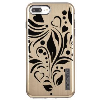 Funda DualPro Shine De Incipio Para iPhone 8 Plus/ Nuevos brillo más de DualPro del iPhone 7, oro