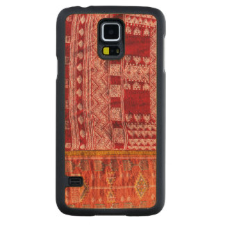 Funda Fina De Arce Para Galaxy S5 De Carved Alfombra roja en el mercado
