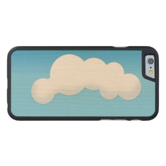 Funda Fina De Arce Para iPhone 6 De Carved Nube