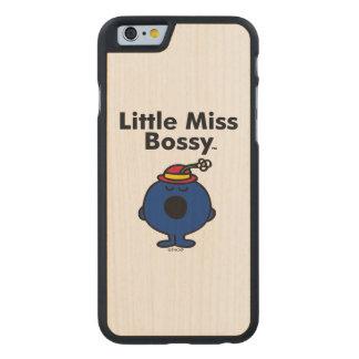 Funda Fina De Arce Para iPhone 6 De Carved Pequeña pequeña Srta. Bossy de la Srta. el | es