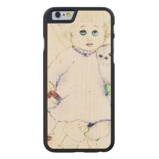 Funda Fina De Arce Para iPhone 6 De Carved Poco ángel - suave y soñador