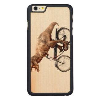 Funda Fina De Arce Para iPhone 6 Plus De Carved Bici del montar a caballo de Trex