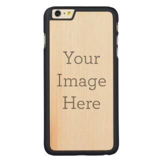 Funda Fina De Arce Para iPhone 6 Plus De Carved Cree sus los propios