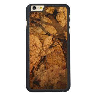 Funda Fina De Arce Para iPhone 6 Plus De Carved De oro y Brown sale de la isla del | Merritt, FL