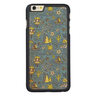 Funda Fina De Arce Para iPhone 6 Plus De Carved Diversión del viaje
