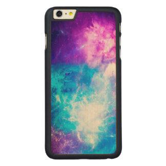 Funda Fina De Arce Para iPhone 6 Plus De Carved El cielo de la creación