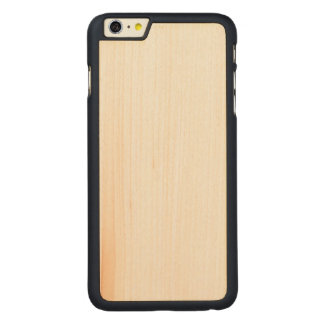 Funda Fina De Arce Para iPhone 6 Plus De Carved iPhone delgado de madera 6/6s más el caso