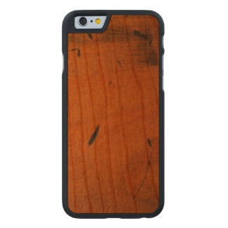 Funda Fina De Cerezo Para iPhone 6 De Carved Madera de madera de Carved® del pino báltico