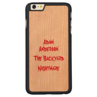 Funda Fina De Cerezo Para iPhone 6 Plus De Carved Caja oficial del teléfono de Adán Anderson