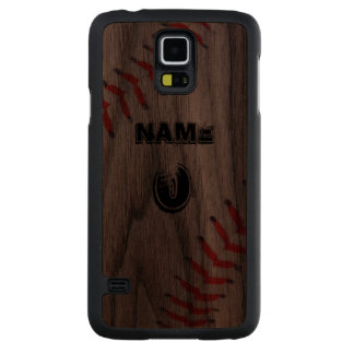 FUNDA FINA DE NOGAL PARA GALAXY S5 DE CARVED