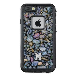 Funda FRÄ' De LifeProof Para iPhone 6/6s Casos impermeables del monograma de encargo de los