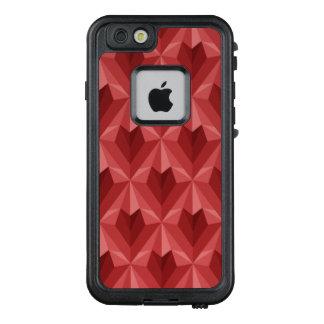 Funda FRÄ' De LifeProof Para iPhone 6/6s Corazón del polígono