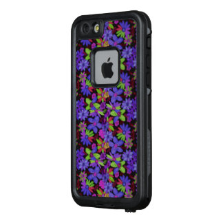 Funda FRÄ' De LifeProof Para iPhone 6/6s Estampado de plores púrpura