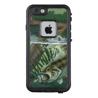 Funda FRÄ' De LifeProof Para iPhone 6/6s Pesca de perca americana