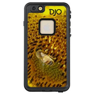 Funda FRÄ' De LifeProof Para iPhone 6/6s Plus Abeja de la miel en un girasol