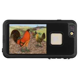 Funda FRÄ' De LifeProof Para iPhone 6/6s Plus Aves de juego en la granja