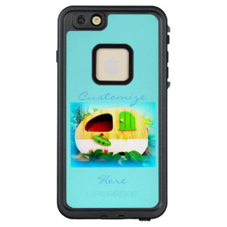 Funda FRÄ' De LifeProof Para iPhone 6/6s Plus Campista retro modificado para requisitos