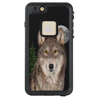 Funda FRÄ' De LifeProof Para iPhone 6/6s Plus Caso del arte del lobo