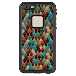 Funda FRÄ' De LifeProof Para iPhone 6/6s Plus Diamantes multicolores
