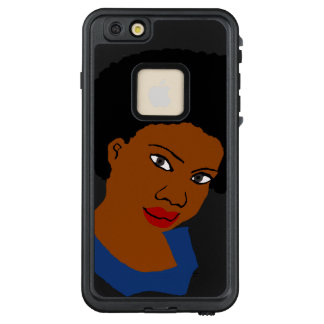Funda FRÄ' De LifeProof Para iPhone 6/6s Plus Diva de la reina del Afro