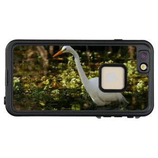 Funda FRÄ' De LifeProof Para iPhone 6/6s Plus Gran Egret que vadea en los marismas