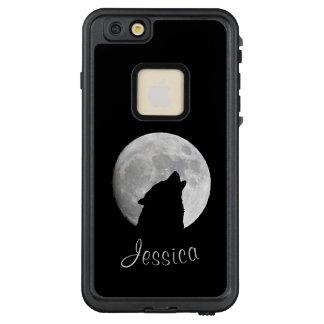 Funda FRÄ' De LifeProof Para iPhone 6/6s Plus Lobo que grita en la Luna Llena, su nombre