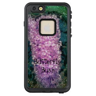Funda FRÄ' De LifeProof Para iPhone 6/6s Plus Mariposa Bush Lifeproof verde de la lavanda del