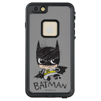 Funda FRÄ' De LifeProof Para iPhone 6/6s Plus Mini bosquejo clásico de Batman