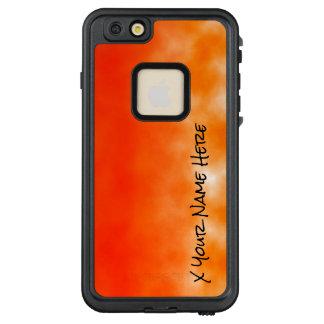 Funda FRÄ' De LifeProof Para iPhone 6/6s Plus Mirada química anaranjada de neón 2 del resplandor