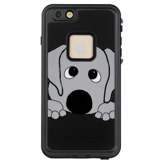 Funda FRÄ' De LifeProof Para iPhone 6/6s Plus mirar a escondidas gris del wimaraner