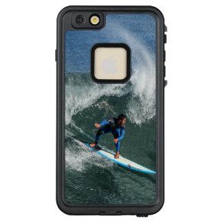 Funda FRÄ' De LifeProof Para iPhone 6/6s Plus Persona que practica surf en la tabla hawaiana