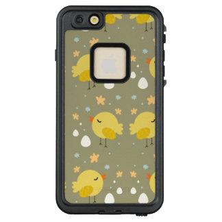 Funda FRÄ' De LifeProof Para iPhone 6/6s Plus Polluelos lindos de pascua y pequeño modelo de los