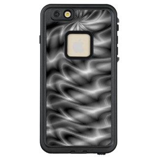 Funda FRÄ' De LifeProof Para iPhone 6/6s Plus Remolino de plata