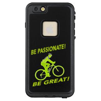 Funda FRÄ' De LifeProof Para iPhone 6/6s Plus ¡Sea apasionado! ¡Sea grande! Verde del motorista