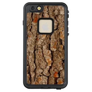 Funda FRÄ' De LifeProof Para iPhone 6/6s Plus Textura de la corteza del pino