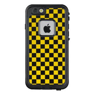 Funda FRÄ' De LifeProof Para iPhone 6/6s Tablero de damas amarillo