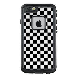 Funda FRÄ' De LifeProof Para iPhone 6/6s Tablero de damas blanco y negro
