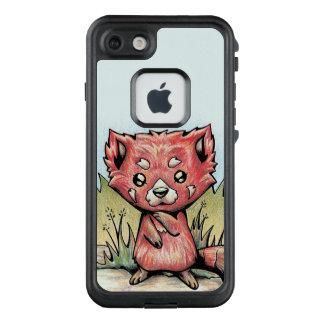 Funda FRÄ' De LifeProof Para iPhone 7 Animal lindo:  Panda roja
