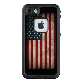 Funda FRÄ' De LifeProof Para iPhone 7 Bandera americana