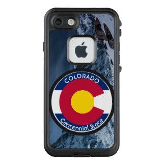 Funda FRÄ' De LifeProof Para iPhone 7 Bandera de la circular de Colorado