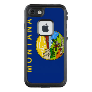 Funda FRÄ' De LifeProof Para iPhone 7 Bandera de Montana
