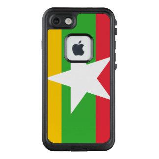 Funda FRÄ' De LifeProof Para iPhone 7 Bandera de Myanmar
