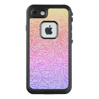 Funda FRÄ' De LifeProof Para iPhone 7 Cabaña occidental de cuero equipada de Kawaii