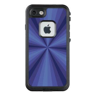 Funda FRÄ' De LifeProof Para iPhone 7 Caja azul de Lifeproof de la ilusión óptica