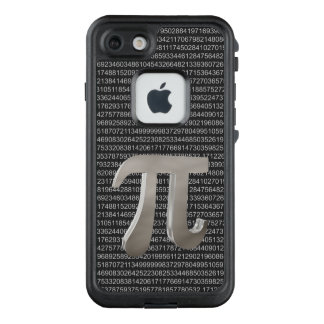 Funda FRÄ' De LifeProof Para iPhone 7 Carácter lindo del metal pi