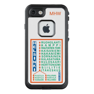 Funda FRÄ' De LifeProof Para iPhone 7 Casos de encargo del monograma de las estaciones