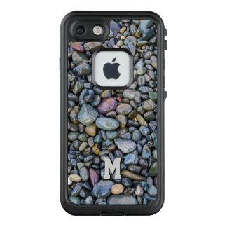 Funda FRÄ' De LifeProof Para iPhone 7 Casos impermeables del monograma de encargo de los
