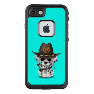 Funda FRÄ' De LifeProof Para iPhone 7 Cazador dálmata lindo del zombi del perrito