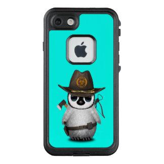Funda FRÄ' De LifeProof Para iPhone 7 Cazador del zombi del pingüino del bebé